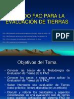 Metodo Fao Para La Evaluacion de Tierras 2008