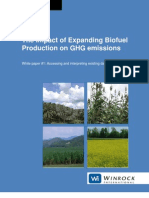 Winrock's White Paper on GHG Implications Biofuel