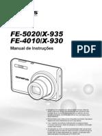 Manual de Instruções Câmera Digital Olympus FE-4010