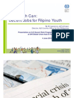 ILO Report - Youth Unemployment in the Philippines