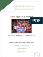 Folklore Guayas.