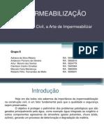 IMPERMEABILIZAÇÃO - APRESENTAÇÃO COMPLETA