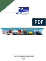 Relatório e contas AIM 2008