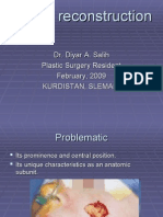 CHEEK RECONSTRUCTION ppt
