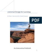 Universal Design for Learning Interactive Notebook