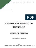 Apostila de Direito Do Trabalho 2012_new