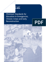 INEE – Minimum Standards for Education in Emergencies, Chronic Crises and Early Reconstruction