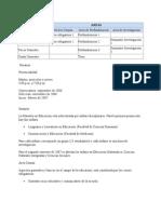 Plan de Estudios Maestria UNAL