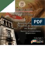 Apuntes Para Una Historia de La Musica Boyacense Vol1