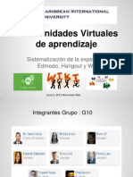 Comunidades Virtuales CIU Grupo 10 Conclcusiones