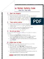 The Water Safety Code
