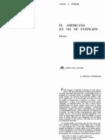 Fiedler Leslie - La br£jula integrada en El americano en v°a de extinci¢n