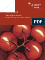 Precautionary Principle and WTO