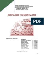 Capitalismo y Subcapitalismo
