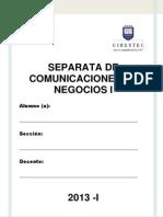 SEPARATA COMNEG I_2013I_primera Parte_antes Del Parcial