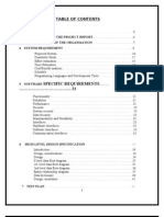 Project Report on Hospital Management System