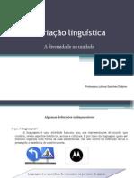 variacao linguistica