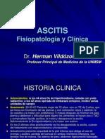 14°Fisiopatologia de Ascitis