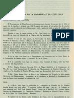 Cronica Vida Filosofica en La Universidad de Costa Rica Revista de Filosofia UCR Vol.3 No.10