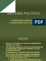 Clasificación de los sistemas políticos