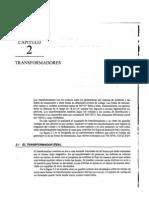 Análisis de Sistemas de Potencia - Grainger y Stevenson Capitulo 2.. Transformadores