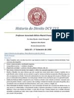 História do Direito - Hélcio