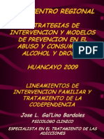 2. Lineamientos de Intervencion Familiar y Tratamiento de La Codependencia - Ps. Gal'Lino