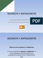 Agonista y Antagonista
