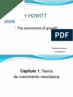 Cap 1. the Economics of Growth
