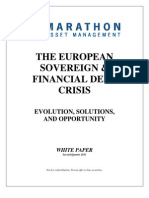 Marathon Asset Management - European Sovereign & Financial Crisis Paper - 2Q11