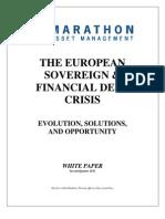 Marathon Asset Management - European Sovereign & Financial Crisis Paper - 2Q11