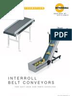 Interroll Belt Conveyor