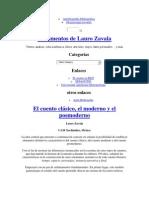 El Cuento_Lauro Zavala