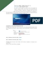Tutorial de Instalação do JDK e IDE Netbeans 7