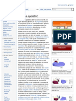 Sistema Operativo - Wikipedia, La Enciclopedia Libre