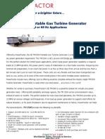 PowerFactor GE TM2500 Specifications