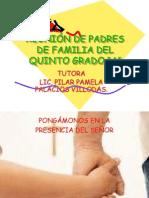 reunindepadresdefamilia2012quintoa-120215171153-phpapp02