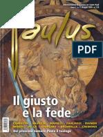 Copertina Paulus Mag