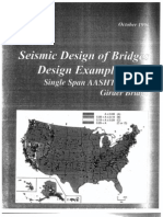 Seismic Design of Bridges Design Example No. 3 - Single Span AASHTO Precast Girder Bridge.