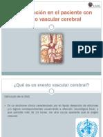 Rehabilitación en el paciente con evento vascular cerebral