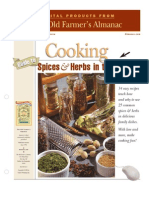 Almanac Spices Herbs Book