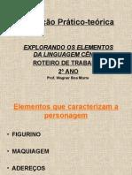 Avaliação Prático-teórica - ELEMENTOS DA LINGUAGEM CÊNICA