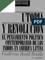 Utopia y Revolucion-bonfil