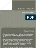 Nursing Theory of fundamental nursing