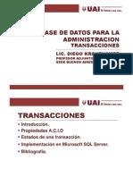 BDA- Transacciones