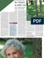 I Racconti Di Alice Munro, Di Emanuele Trevi - Il Corriere Della Sera 03.06.2013