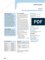 Skf Bearing Damage Analysis