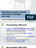Rancangan Undang Undang Apratur Negara