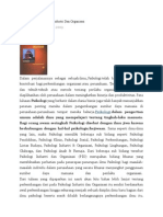 Perkembangan Psikologi Industri Dan Organisasi