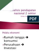 4 Analisis Pendapatan Nasional 2 Sektor